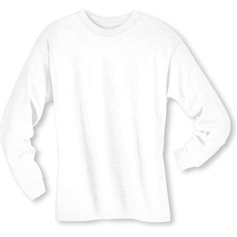 White Shirt Sleeve by Hanes 5186 6 1 Oz Cotton Sleeve Beefy T Shirts