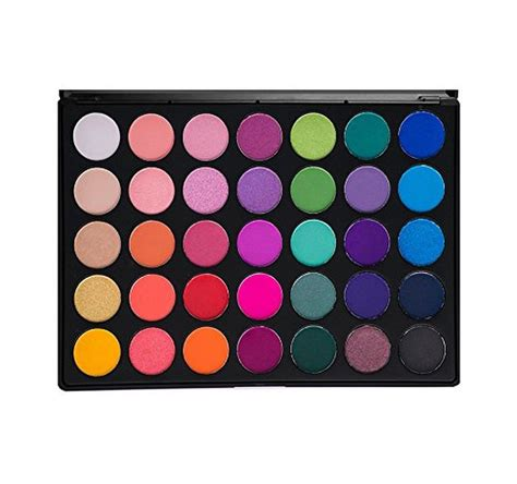 Makeup Morphe morphe pro 35 color eyeshadow makeup palette glam high