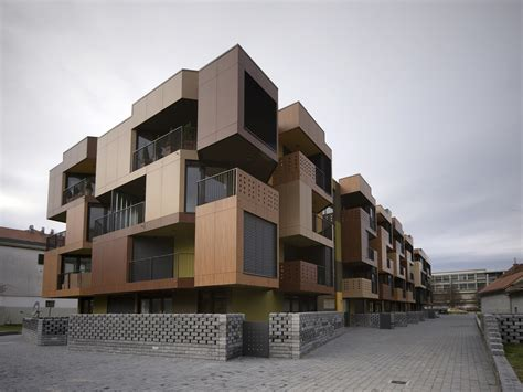Apartment Building Design Architecture Tetris Apartments Ofis Arhitekti Archdaily