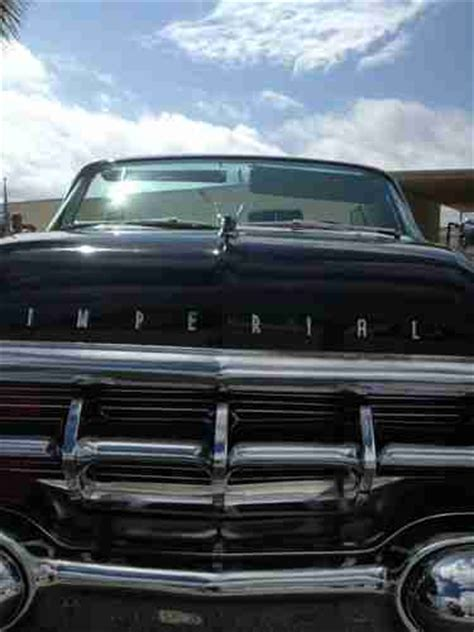 1959 chrysler imperial convertible sell used chrysler imperial crown convertible 1959 in boca