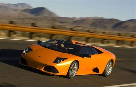 Lamborghini Car Hire Rent Lamborghini Murcielago Lp 640 Roadster
