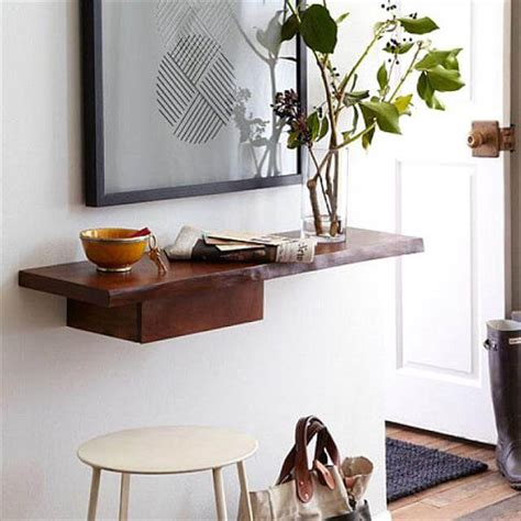 entry way shelf 10 diy entryway decor and storage ideas diy to make