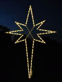 christmas light star christmas decorating