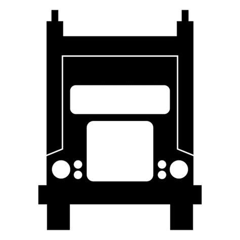 Blouse Big Transaparan Bl 64 frontal truck silhouette transparent png svg vector