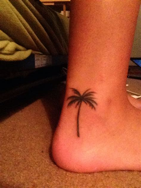 palm tree ankle tattoo 17 best images about palm tree s on