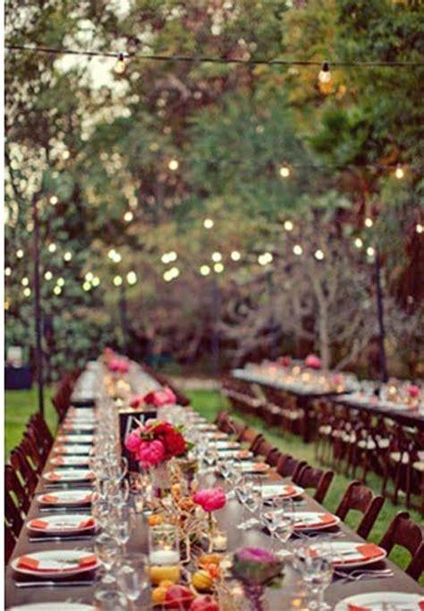 Bird Themed Home Decor by 11 Botanical Wedding Ideas With Garden Lights Cheap Easy
