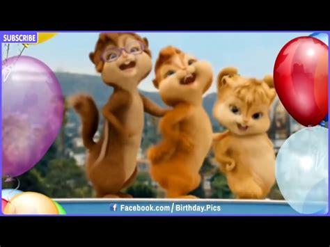 happy birthday alvin chipmunks mp3 download happy birthday song video chipmunks chipettes