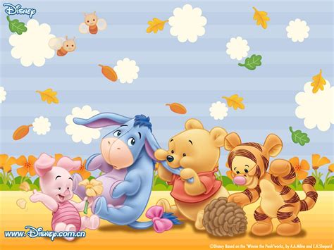 wallpaper hd winnie the pooh lightthem 可愛圖案 winnie the pooh wallpaper 1 小熊維尼電腦桌布 1