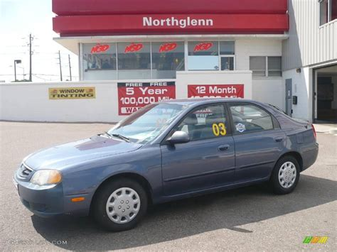 Kia Spectra Light 2003 Slate Blue Kia Spectra Gs Hatchback 17255570