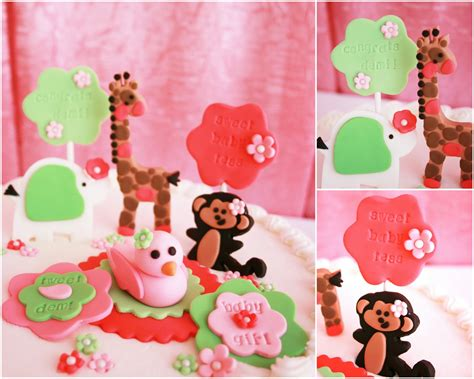 real pink jungle baby shower frog prince paperie