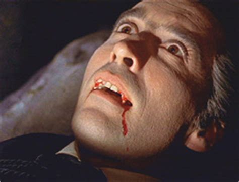 film semi dracula horror of dracula christopher lee hammer films 1958