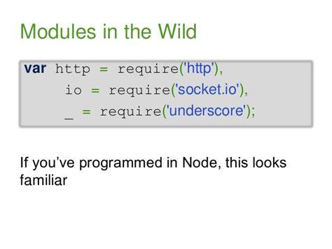 module pattern node js node js patterns for discerning developers