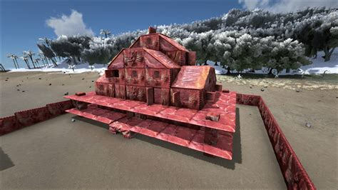 Build your own house made of meat with this Ark: Survival