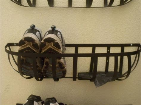 diy shoe rack by front door i really like this shoe rack idea for the front back door