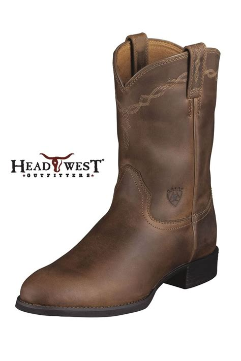 ariat heritage cowboy boots what the cowboys wear cowboy boots and cowboys