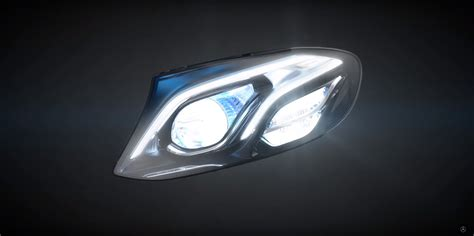 mercedes led headlights 2017 mercedes e class multibeam led headl gets