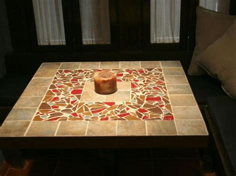 ceramic tile table top how to a tile mosaic tabletop tabletop hgtv and