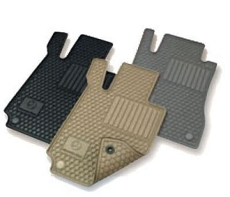 Mercedes C300 Floor Mats by Mercedes C Class All Weather Rubber Floor Mat Sets