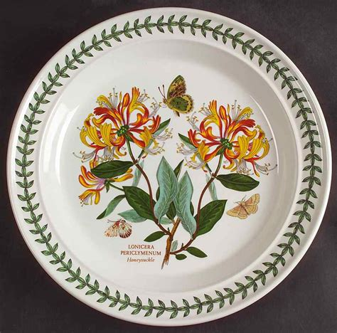 Cheap Portmeirion Botanic Garden Portmeirion Botanic Garden Honeysuckle Dinner Plate S4697621g3 Ebay