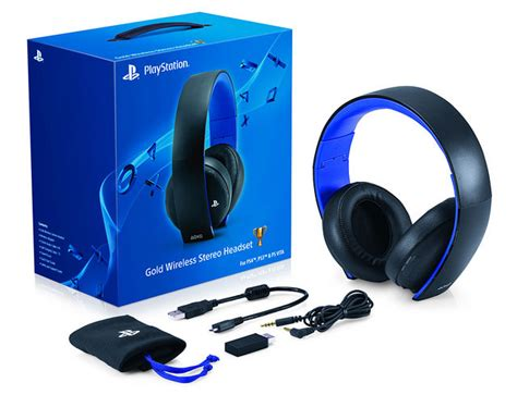 Sony Gold Wireless Headset Ps4 Update 1 60 Headset Support Gold Wireless Headset Coming Soon
