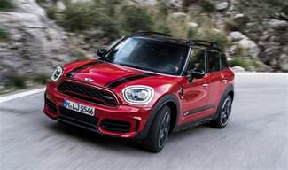news 2018 mini countryman cooper works priced