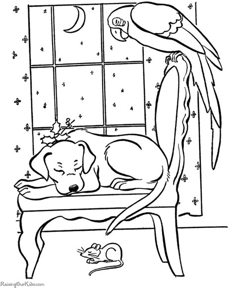 coloring pictures of puppies at christmas christmas puppies coloring pages coloring home