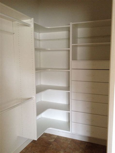 Walk In Closet Shelving Master Bedroom Walk In Closet Idea For Maximum Storage And