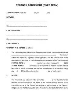 term tenancy agreement template 10 month to month rental agreement free sle exle