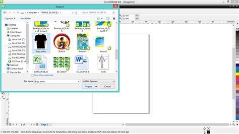tutorial corel draw x7 desain baju tutorial corel draw membuat desain baju porseni