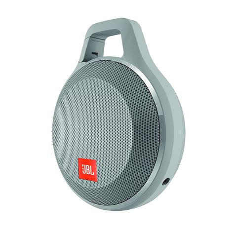 Speaker Jbl Clip portable wireless speaker clip jbl bluetooth jblclipplusgray