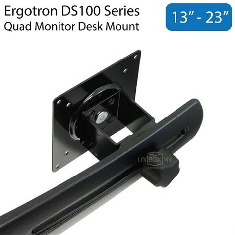 ergotron ds100 quad monitor desk stand ergotron ds100 13 23 inch quad monit end 1 9 2018 10 15 am