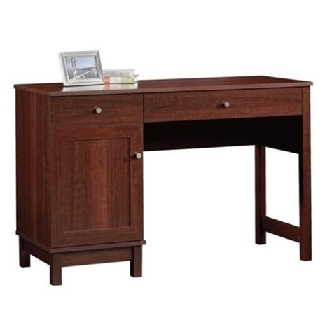 Cherry Home Office Desk Bowery Hill Home Office Desk In Cherry Bh 657386