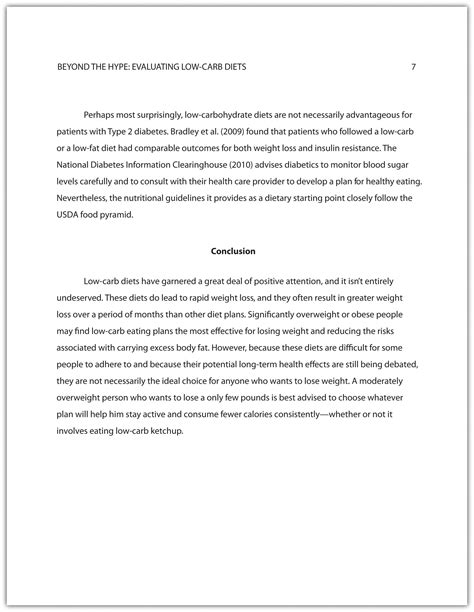 developing  final draft   research paper