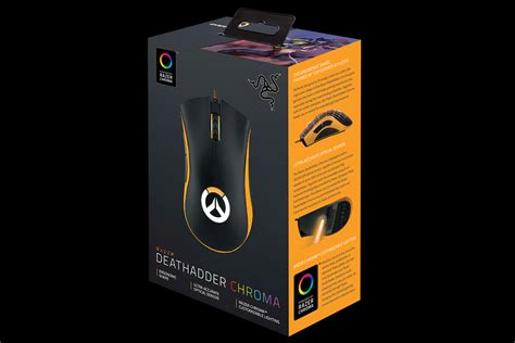 Sale Razer Deathadder Chroma Overwatch Edition overwatch razer deathadder chroma ergonomic mouse