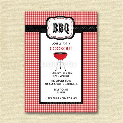 free templates for cookout invitations 7 best images of printable barbeque invites free