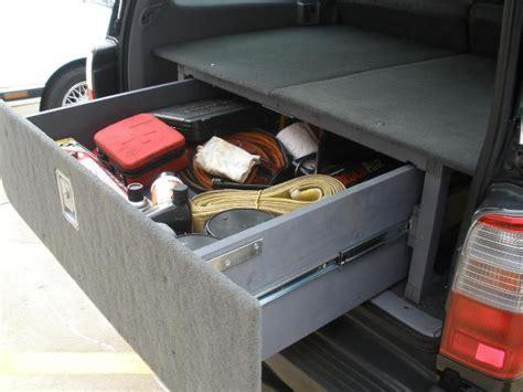 Sb Big Car Organizer cargo box storage system diy toyota 4runner forum