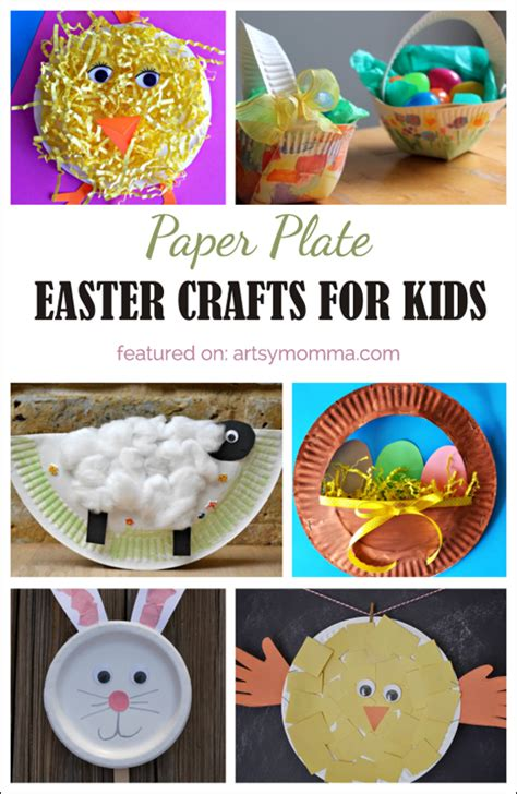 Easter Crafts Paper Plates - 10 paper plate easter crafts for artsy momma