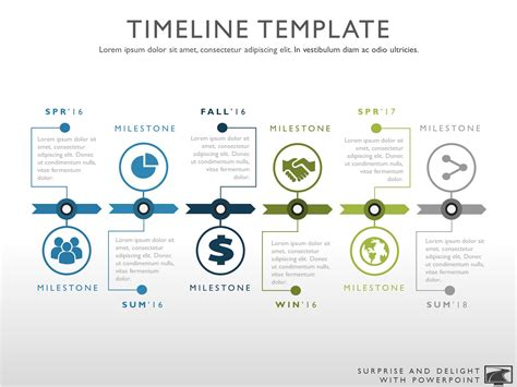 timeline presentation template free the 25 best project timeline template ideas on