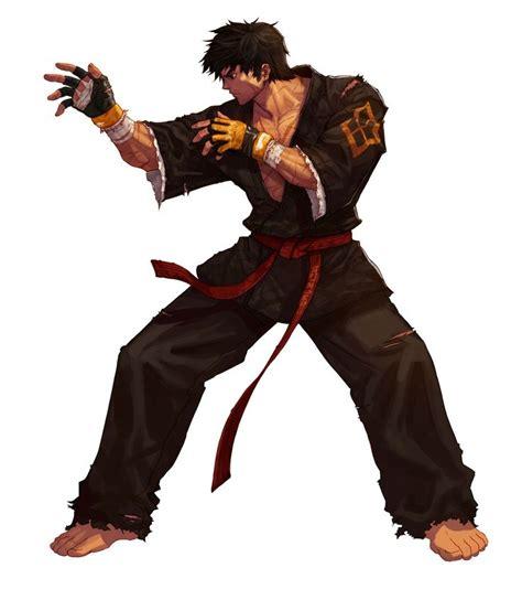 anime fight martial arts monk martial artist maneuver master boards
