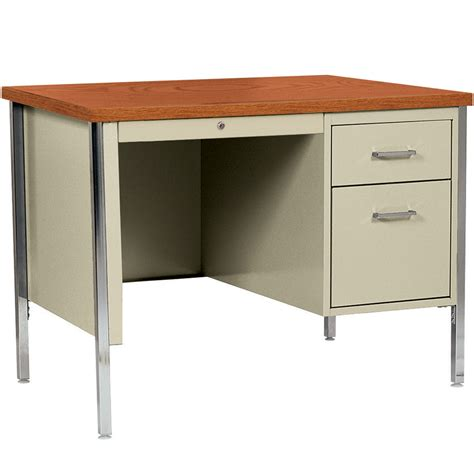 Single Pedestal Desk by Single Pedestal Desk In Desks And Hutches