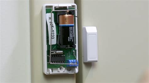 diy battery replacement for a door window contact box by adt