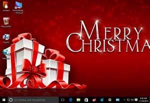 christmas 2015 theme for windows 10 windows 7 and windows 8