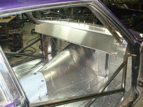 Drag Car Interior Sheet Metal services