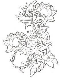 Koi Fish And Lotus Flower Lotus N Koi Fish Design Tattoobite