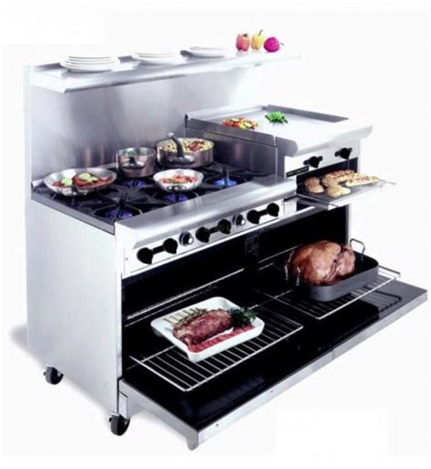 Top Kitchen Machines american range 48 inch commercial range 24 inch raised