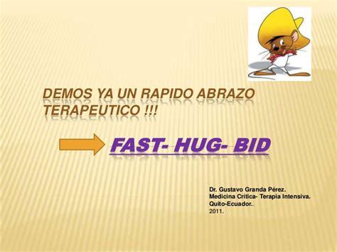 fast bid demos ya una rapido abrazo terapeutico pt