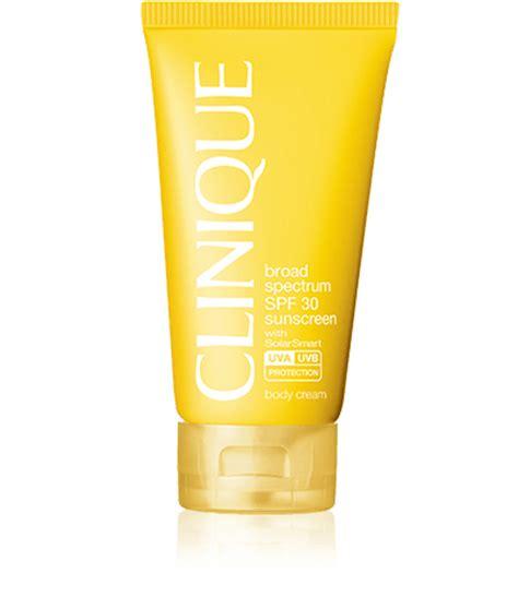 Sunscreen Clinique broad spectrum spf 30 sunscreen clinique