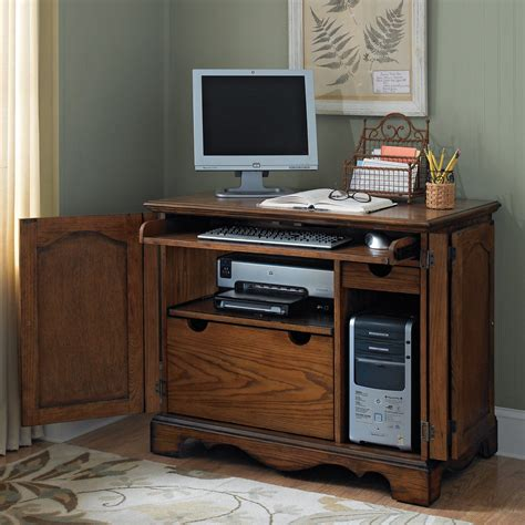 small computer armoire office furniture computer armoires hayneedle com