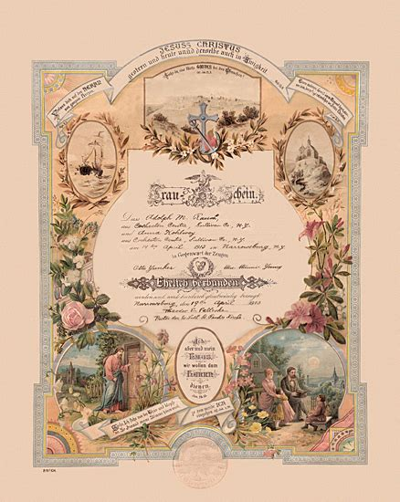 wedding anniversary record 1819 marriage certificate this is a 1819 marriage