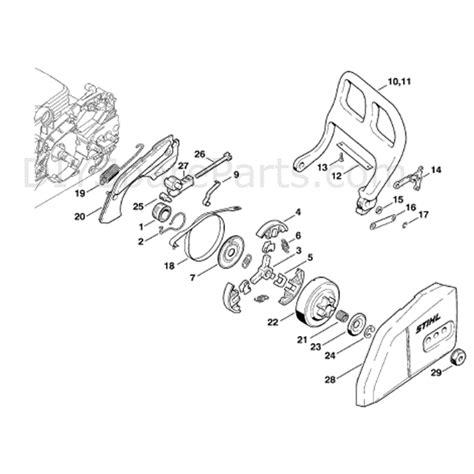 stihl ms 170 parts diagram stihl ms 170 chainsaw ms170 parts diagram chain brake